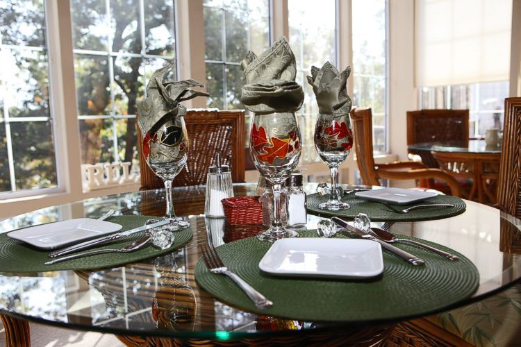 Inn at Harbour Ridge Table Setting