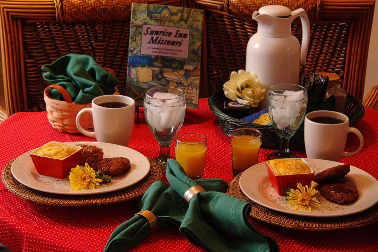 Inn at Harbour Ridge Breakfast
